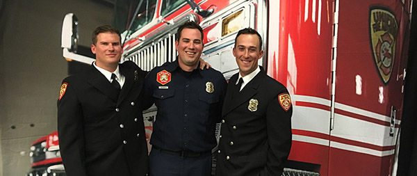 Practicing Compassion Every Day: Connor Barton '08 Finds Joy and Purpose as a Firefighter