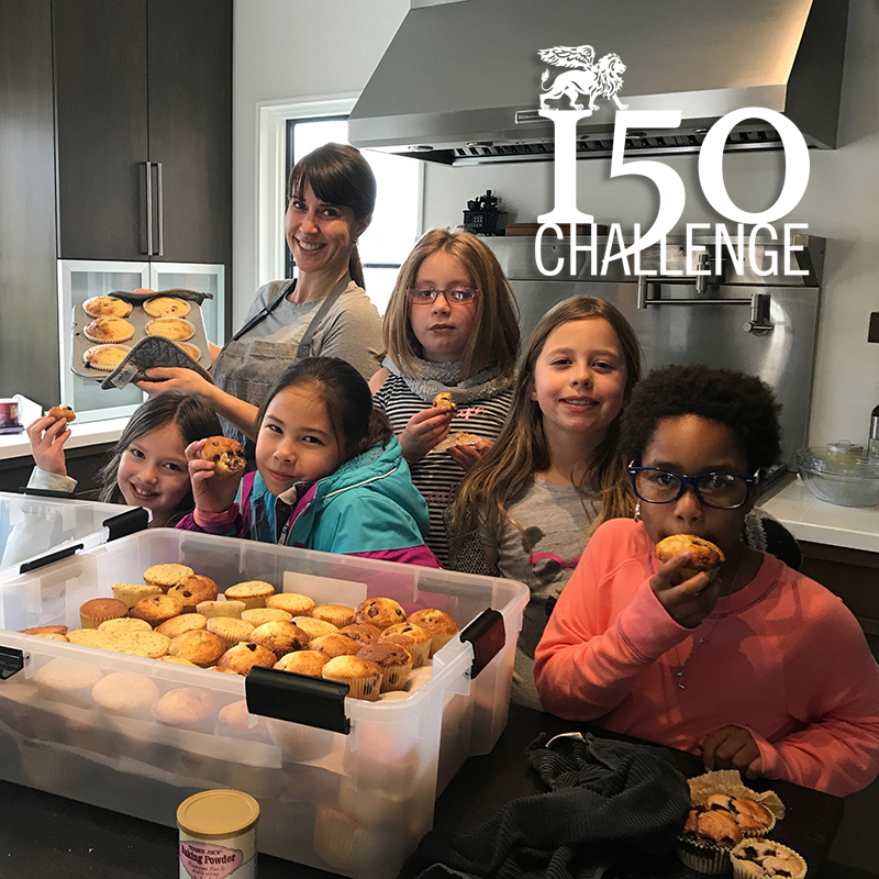 150 Muffins for the Homeless
