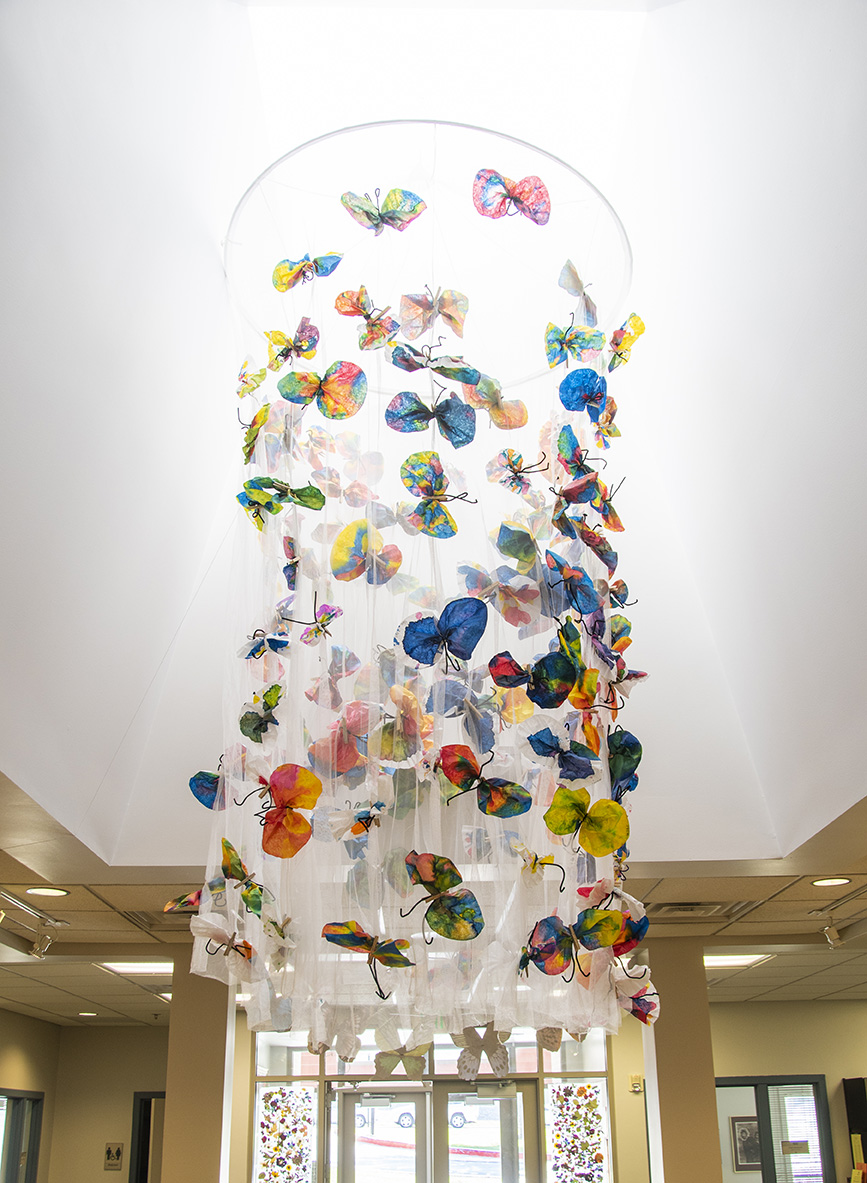 150 Butterflies for the 150th Birthday
